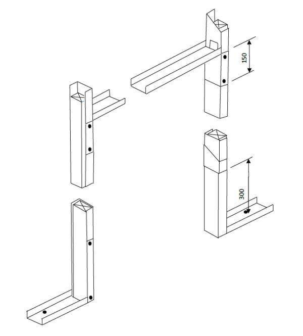 Pro Cut technical drawing