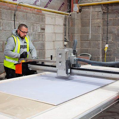 Drywall Maintenance - Drywall pro cut