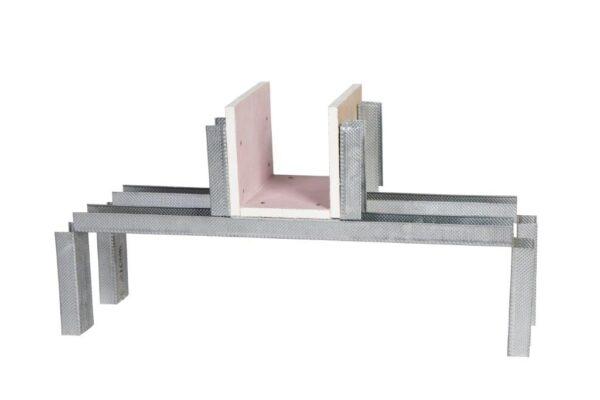 BG Pro Cut 3 Sided Twin Wall Adjustable Builders Work Openings
