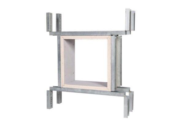 BG Pro Cut 4 Sided Twin Wall Adjustable Builders Work Openings